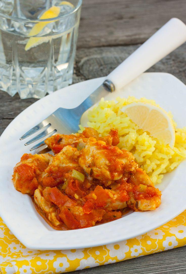 Курица Тикка Масала с лимонным рисом - Все суета сует... Будь выше - фотографируй!