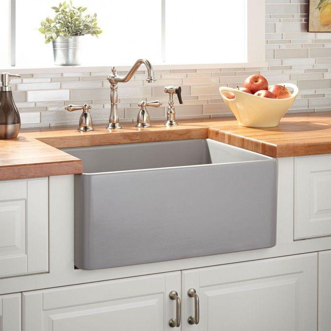 Awesome Best 25+ Fireclay Farmhouse Sink Ideas On Pinterest | Fireclay Sink, Farmhouse  Sinks And Apron Sink