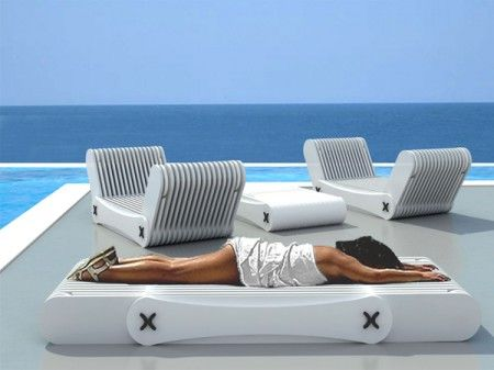 Chaise longue pliante codex massage the o 39 jays and chic for Chaise longue pliante matelassee