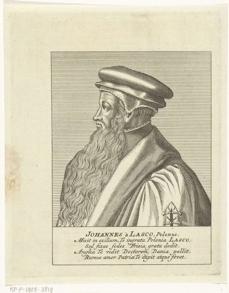 François van Bleyswijck | Portret van kerkhervormer Johannes Calvijn, François van Bleyswijck, 1681 - 1746 |
