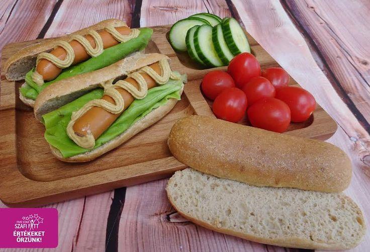 Éhezésmentes karcsúság Szafival - Paleo hotdog kifli