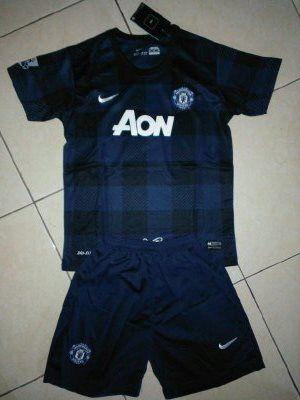 Jual Baju Bola Anak Manchester United Away Terbaru 2014