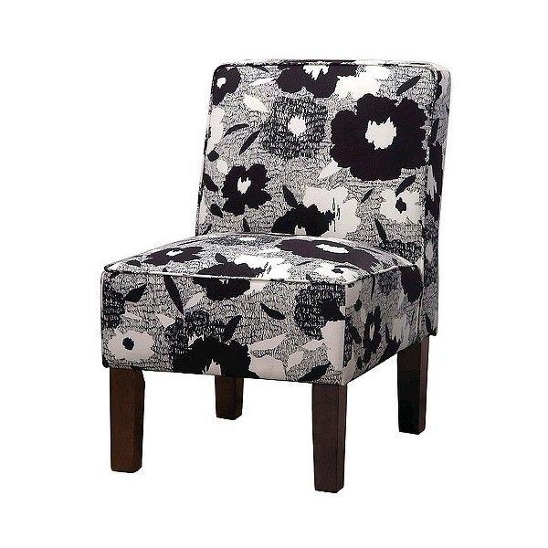 Best Skyline Upholstered Chair Burke Accent Print Slipper 640 x 480
