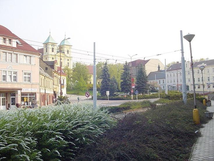Litvínov Masarykovo náměstí