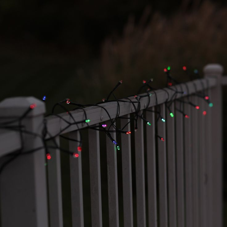 String Lights On Deck Railing : 56 best images about Solar Garden Lights 2014 on Pinterest Solar, One color and Hummingbirds
