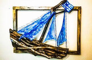 Ονειρώξεις επί.... ξύλου: Επιτοίχια καράβια με θαλασσόξυλα