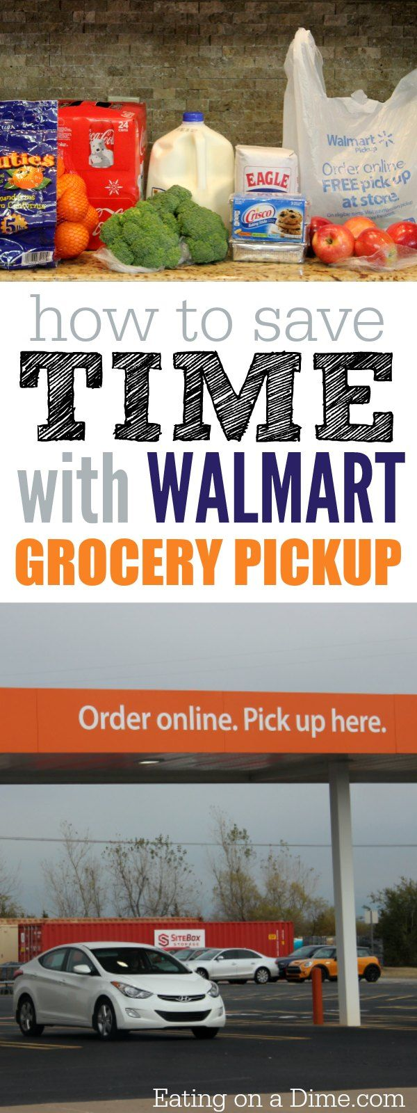See how I save time grocery shopping! Walmart grocery pickup is the new way to save time and money. Try buying groceries through Walmart online shopping and let Walmart shop for you! #ad