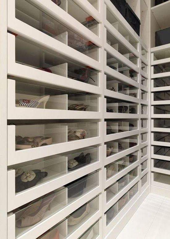 Storage Trend: Glass Drawer Fronts // Live Simply by Annie