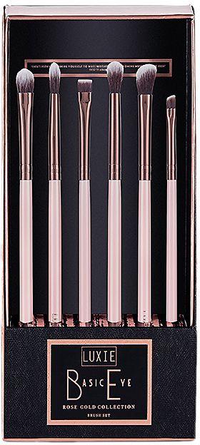 Luxie Rose Gold Eye Brush Set.