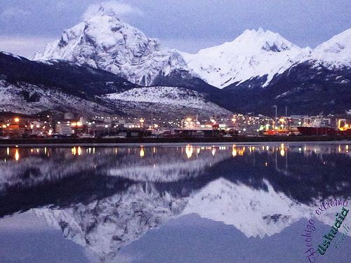 Ushuaia, Tierra del Fuego, Patagonia Argentina, Panorámica