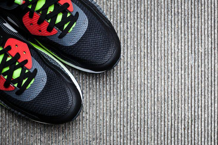 Nike Air Max Lunar90 Black/Cool Grey-Anthracite-Volt | Sneaker Concepts