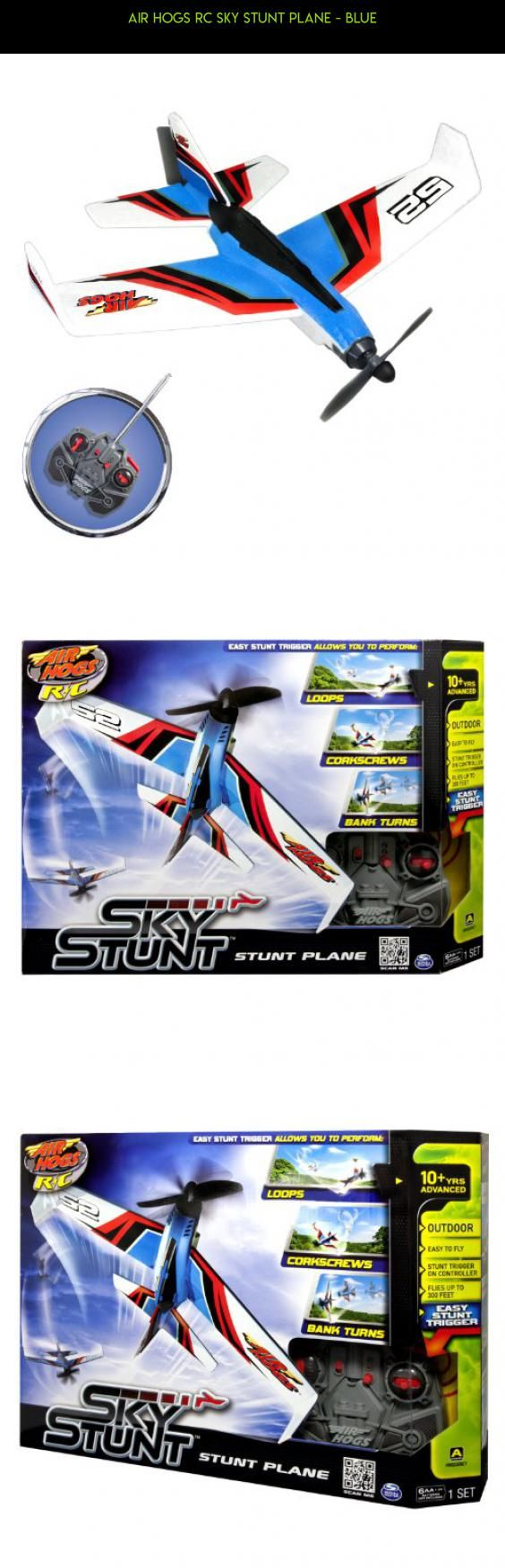Air Hogs RC Sky Stunt Plane - Blue #parts #products #plans #kit #shopping #airplane #racing #technology #air #drone #tech #hogs #fpv #gadgets #camera