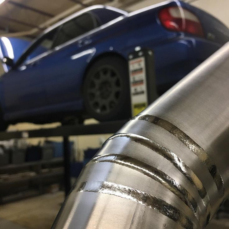 Finally feeling functional again in the new shop. Getting started on some wrx exhaust work using some Ticon materal as always  #ticon #ticonindustries #wrx #wrxsti #sti #impreza #titanium #exhaust #piecut #ti #welding #tigwelding #backpurge #turbo