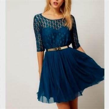 Cool casual blue lace dress 2018-2019 Check more at http://myclothestrend.com/dresses-review/casual-blue-lace-dress-2018-2019/