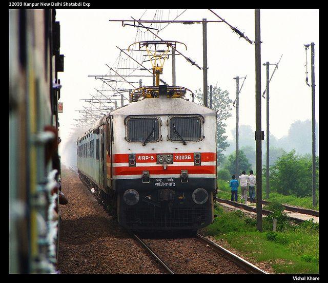 12033 Kanpur Central New Delhi Shatabdi Express