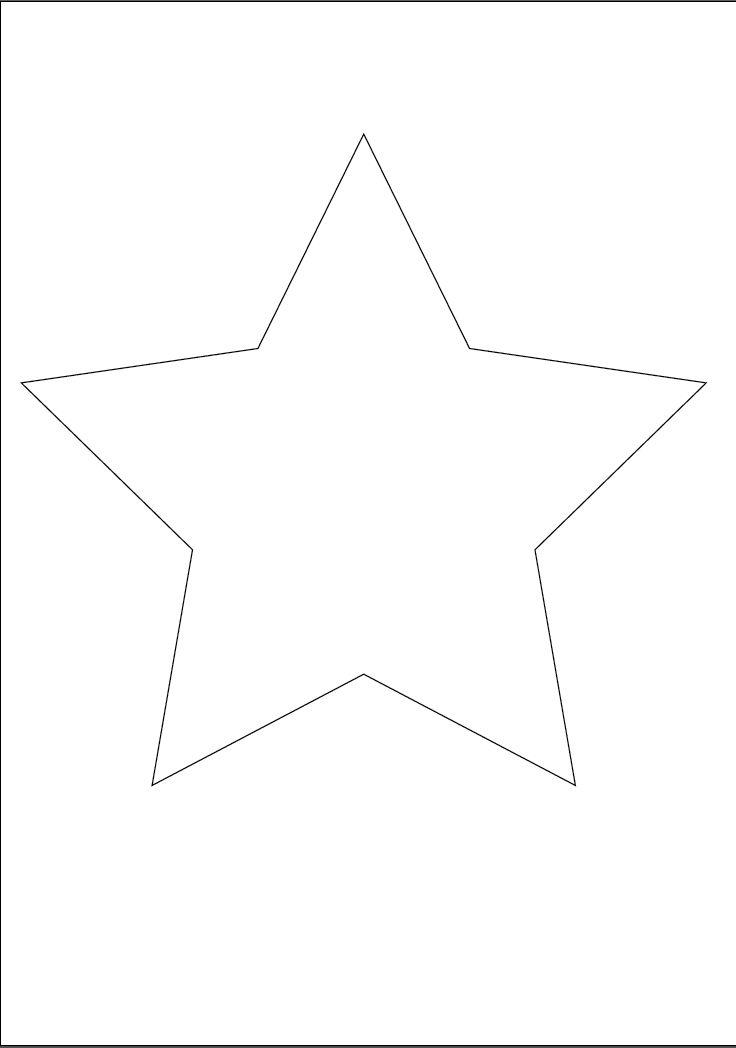 Stern malvorlage - Ausmalbilder für kinder Sterne zum