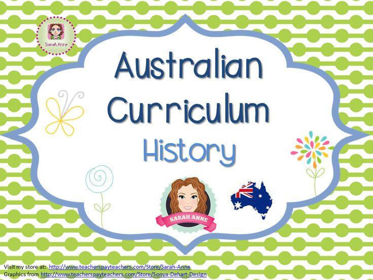 A collection of resources to support teaching of Australian Curriculum History. #australiancuriculum #acara #history #tpt #sarahanne #indigenous #australia #convicts #NAIDOC #aboriginal #torresstraightislander #ANZAC #Europeansettlement