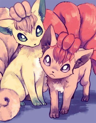Vulpix!! My legit fave pokemon :3
