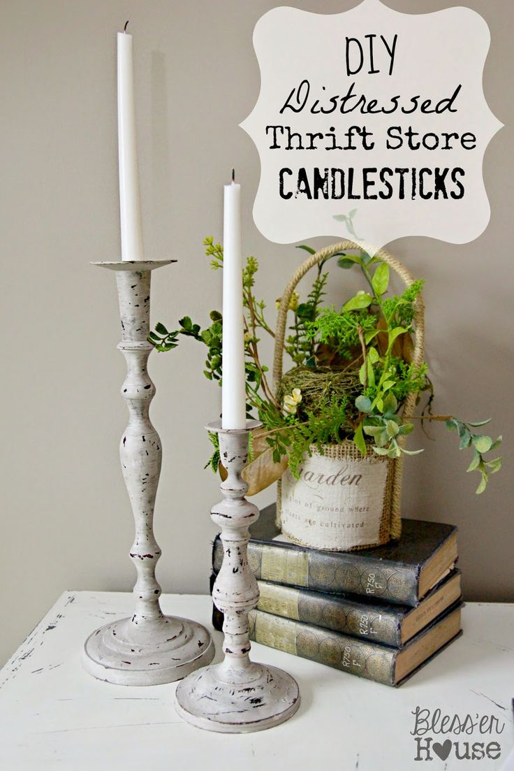 25 best ideas about candlesticks on pinterest shabby chic lamps candlestick holders and. Black Bedroom Furniture Sets. Home Design Ideas