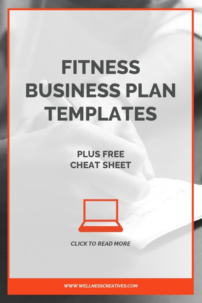Gym Business Plan Templates Plus Free Cheat Sheet Pdf Ing Pinterest Fitness And