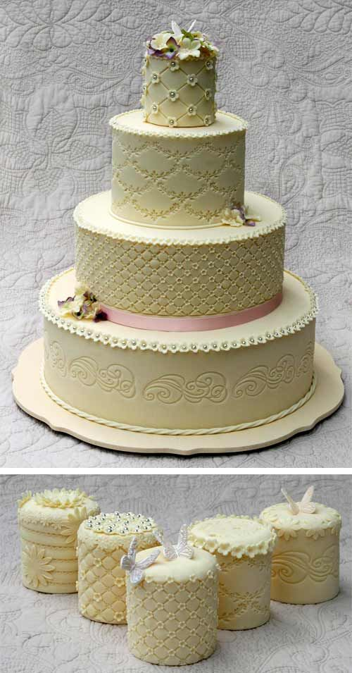 Find This Pin And More On 4 Tier Wedding Cakes