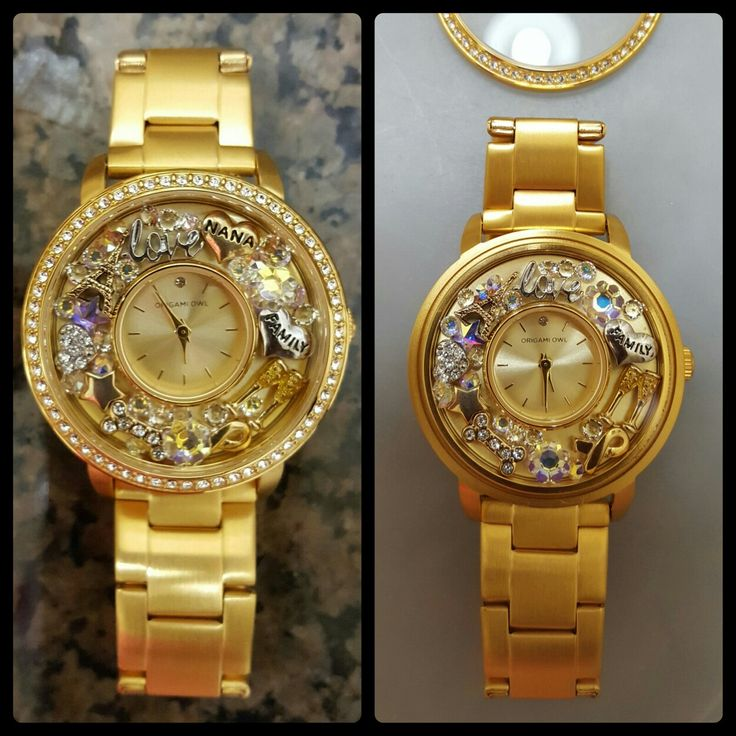 Thank You, Santa! Origami Owl Gold Living Locket Watch. Love, Love, Love! ☺