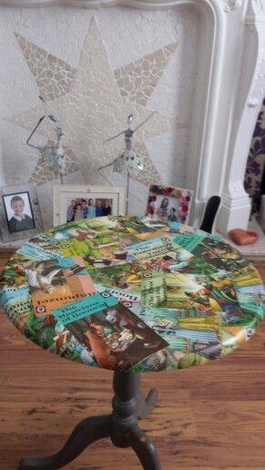 Ladybird books table