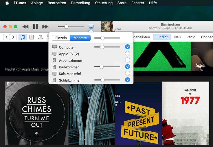 Apple Airplay ermöglicht mehr als Audiostreaming, Video, Fotos, Spiele auf dem Fernseher, Remote App und Drucken über WLAN