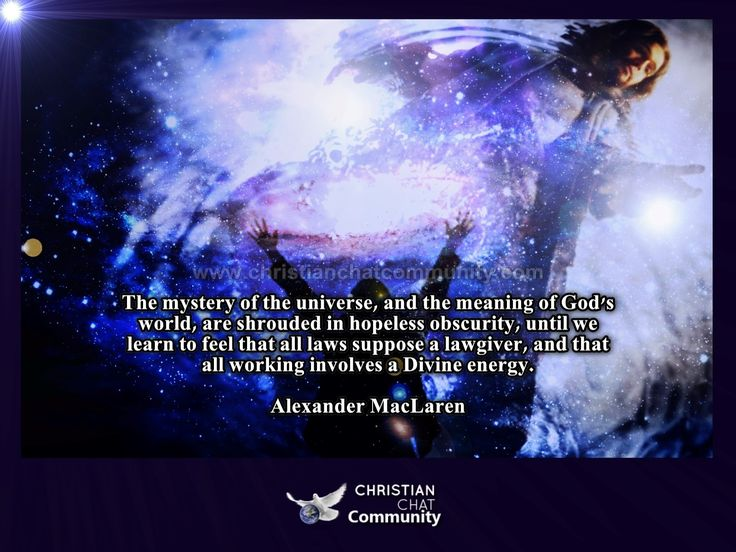 All Working Involves A Divine Energy - Alexander MacLaren - Christian Chat Community