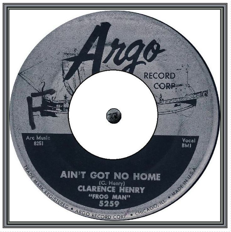 Clarence 'Frogman' Henry - Ain't Got No Home