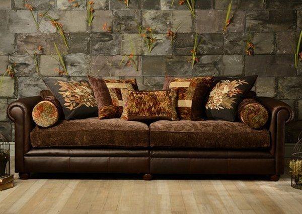 Elegante Herrliche Stoff Leder Sofa Sofas Devon Leder Sofas In Die Meisten Awesome Stoff Leder Sofa Bezug A Fabric Sofa Living Room Furniture Sofas Tetrad Sofa