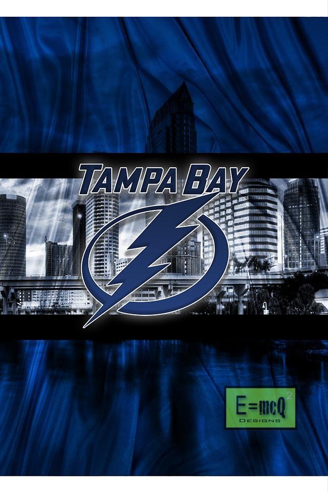 Tampa Bay Lightning Poster, Tampa Bay Lightning Print, Tampa Bay Light                      – McQDesign