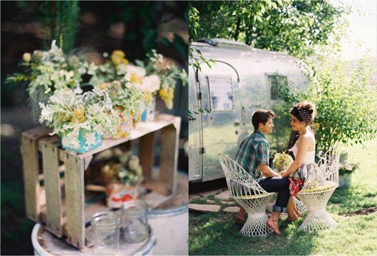 demande en mariage romantique originale caravane-forêt