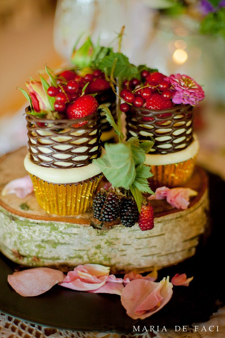 Cupcakes by Cakes by Robin from our stunning photoshoot at Dorne Court