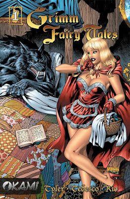 Zapiski z przypomnianych krain: Grimm Fairy Tales #001 Czerwony Kapturek - zapowie...