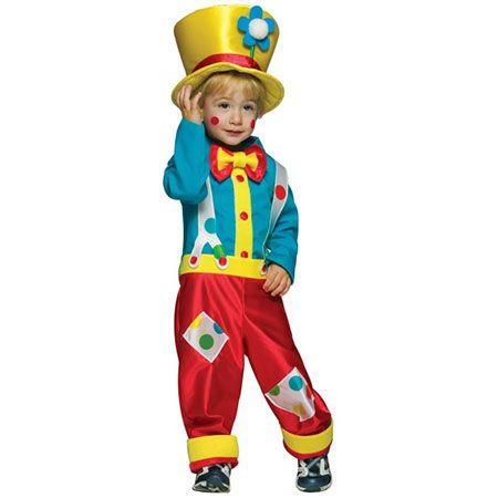 Новогодний костюм клоуна