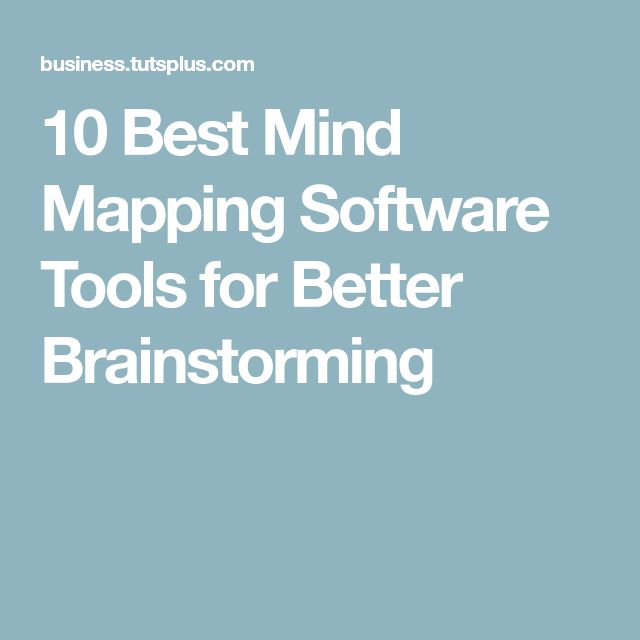 10 Best Mind Mapping Software Tools for Better Brainstorming