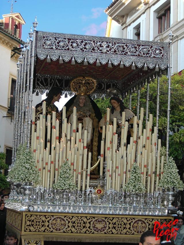 Santo Sepulcro. Parroquia de la Compañia.Semana Santa Cordoba.