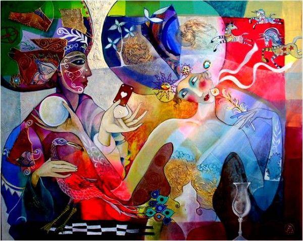 картины художника Didier Delamonica - 06