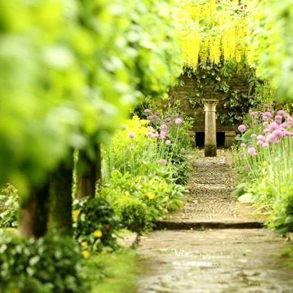 Barnsley House Rosemary Verneys Garden Visited In 2008