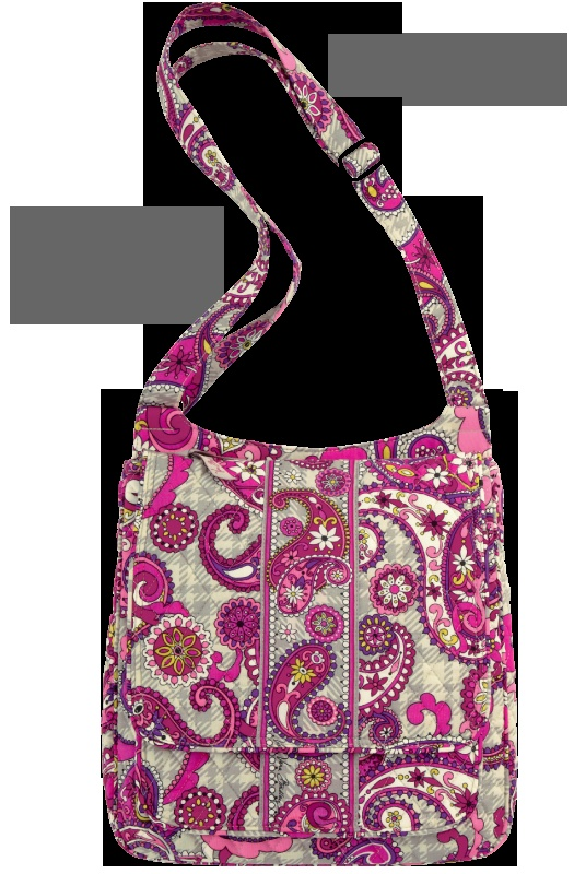 Reintroducing... the Vera Bradley Mailbag! Shown here in Paisley Meets Plaid!
