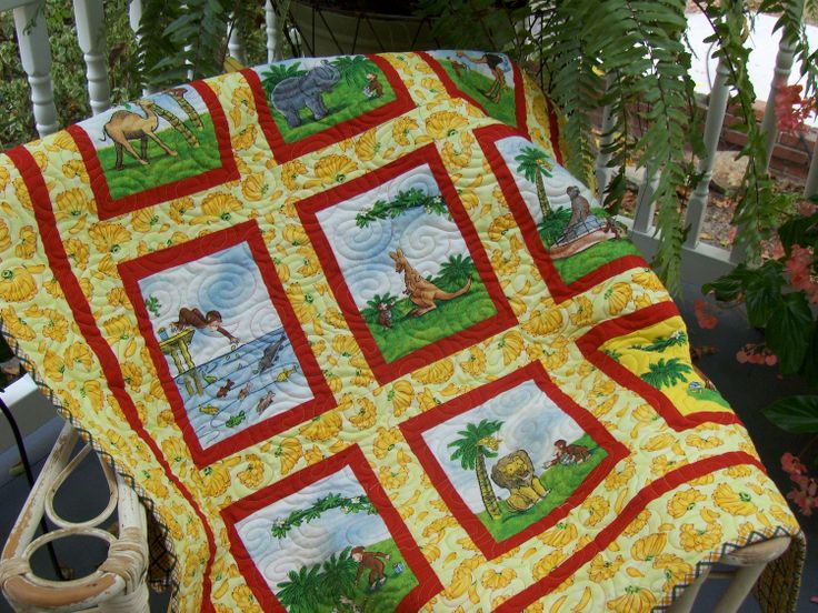 39 best Quilt Curious George/zoo images on Pinterest | House ... : curious george quilt - Adamdwight.com