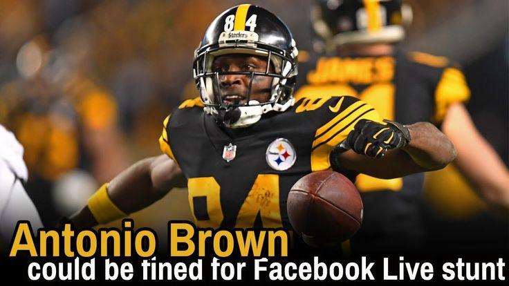 Antonio brown live stream | antonio brown facebook live | antonio brown ...