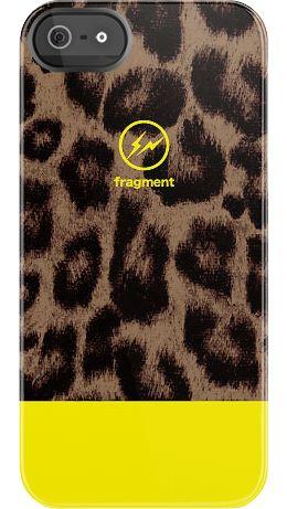 Fragment Leopard Yellow case by Hiroshi Fujiwara