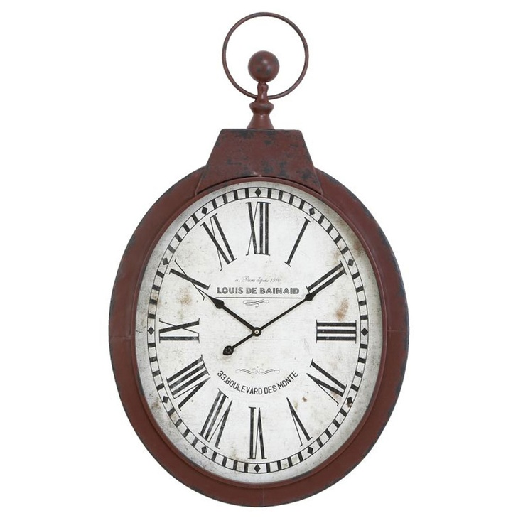 Uma Mtl Roman Numeral Large Wall Clock For The Home