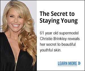 Christie Brinkley, Age 61, Reveals Recapture-360 to Millions on Live TV! SECRET TO STAYING YOUNG could well be the answer for mature ladies and gents who look in the mirror and despair at the lines and those damn saggy parts of the face, neck, chest and arms that just won't hold themselves up anymore.   http://www.easybodyfit.com/Supermodel-Christie-Brinkley