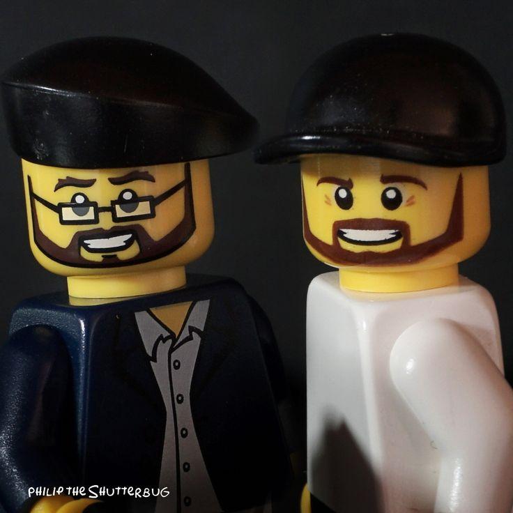 The two artists. 55/500 #Lego #legophotography #shutterbug #toys #blocks #bricknetwork #diy #minifigures #afol #artists