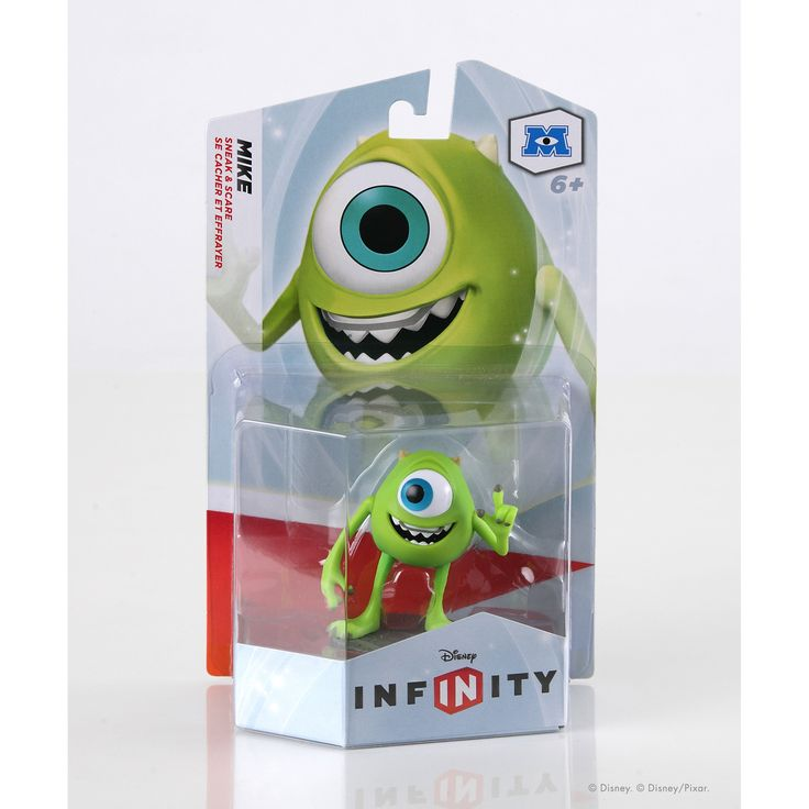 Trick your way through hours of exciting adventure with the help of this Mike figure, top scarer Sulley's best pal, straight from Monsters University he may be upbeat and enthusiastic but he can scare