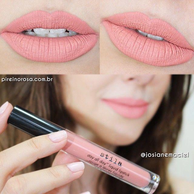 Stila All Day Liquid Lipstick Bellissima Matte Mates