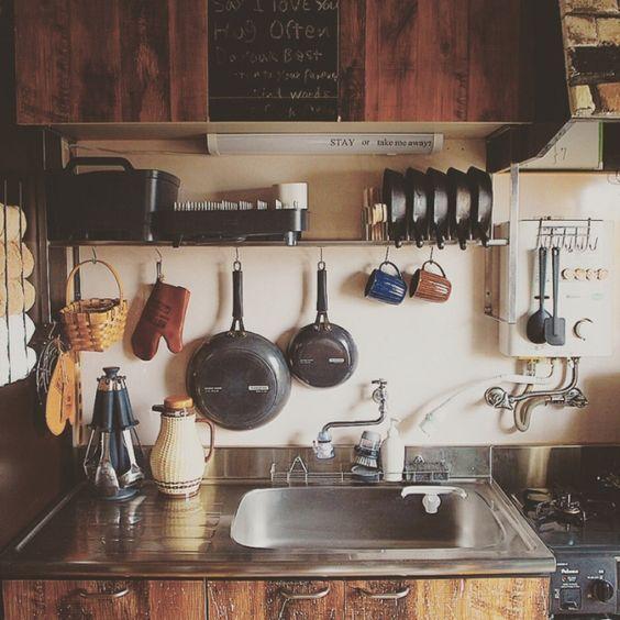 昭和がおしゃれ♡家事が楽しくなるレトロなキッチン特集! | folk